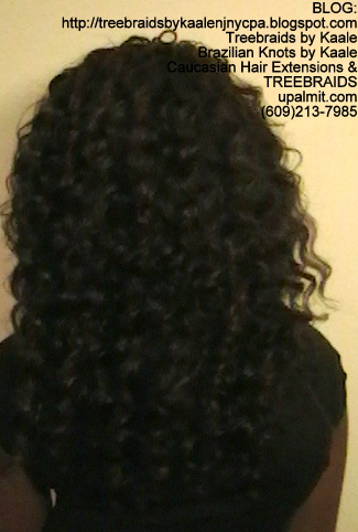 Tree Braids- Individuals with Deep WaveBulk Batik Back2276.
