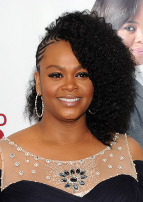 Treebraids and cornrows combo style worn by Mega Star Jill Scott.