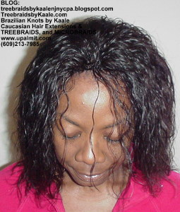 Tree Braids by Kaale using Brazilian hair- one 4oz bundle