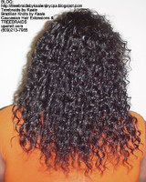 Tree Braids by Kaale- Cornrows with Straight Yaky hair BackSt.