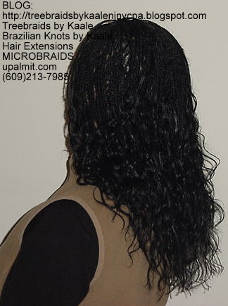 Microbraids, also spelled Micro Braids- L11.