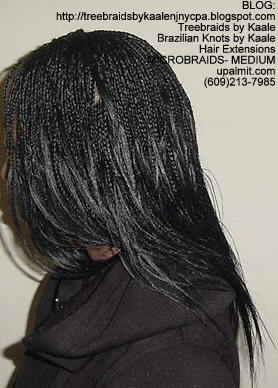 Microbraids, also spelled Micro Braids- Left71.