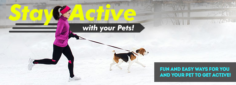 Staying Active with Pets