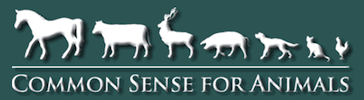 Common Sense for Animals Logo