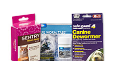 Dewormers for Dogs, Cats, and Horses