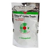 Enisyl-F Lysine Treats, cat dental treats