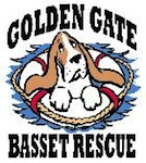 Golden Gate Basset Rescue Logo
