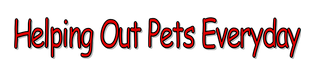 Helping Our Pets Everyday