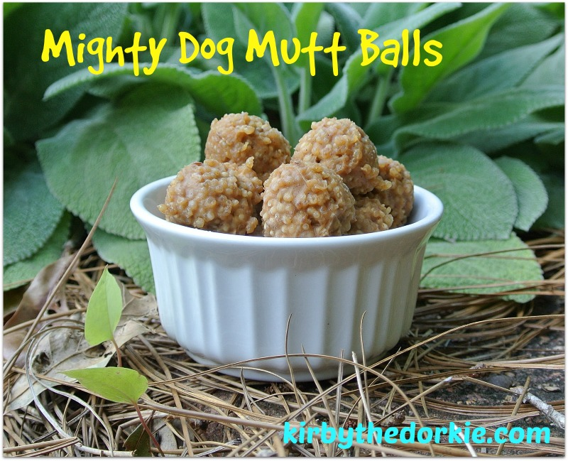 Mighty Dog Quinoa Balls