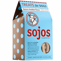 Sojos Dog Treats: Bacon Cheddar