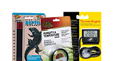 Reptile Temperature and Humidity Control Products