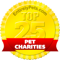 Top Pet Charities Badge