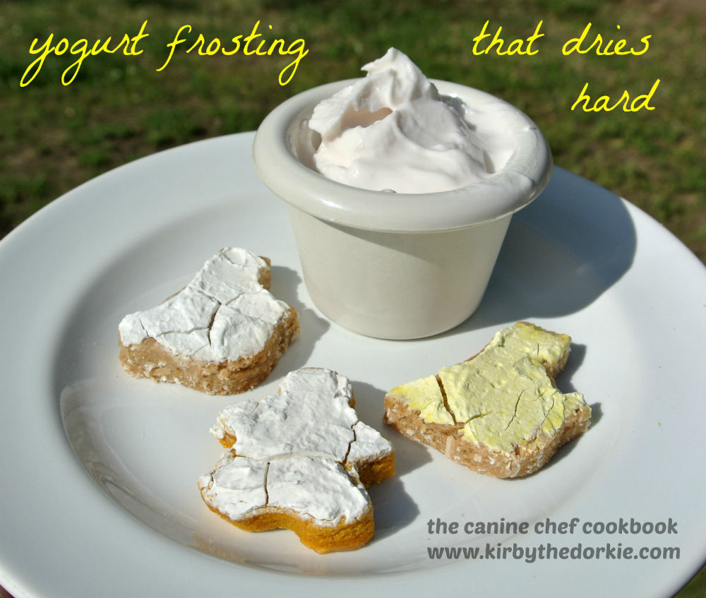 Yogurt frosting recipe for dogs