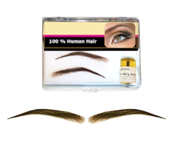 LaDY's SOFT ANGLED EYEBROW WIG