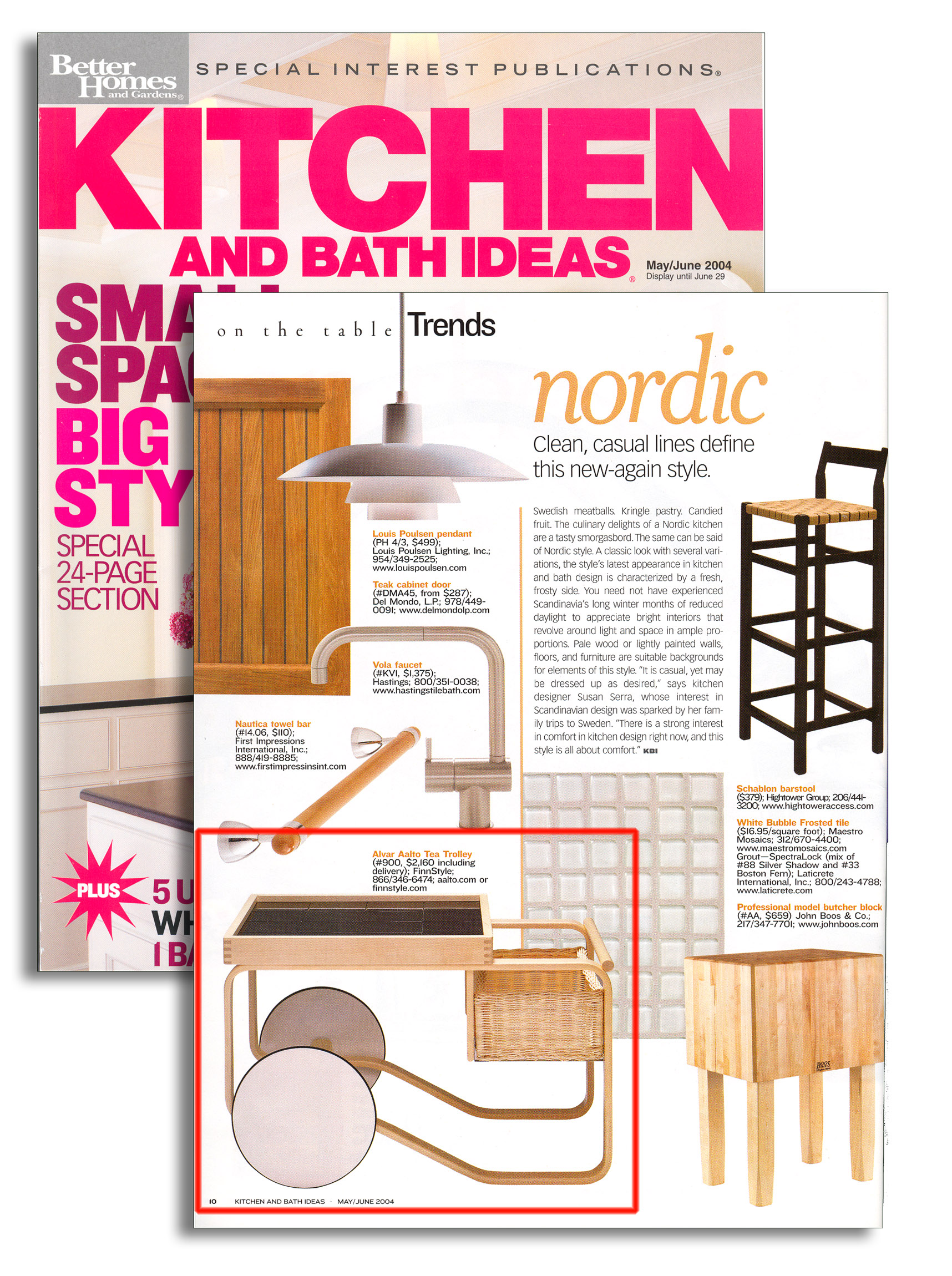 finnstyle press bhg kitchen and bath ideas magazine subscription buy at
