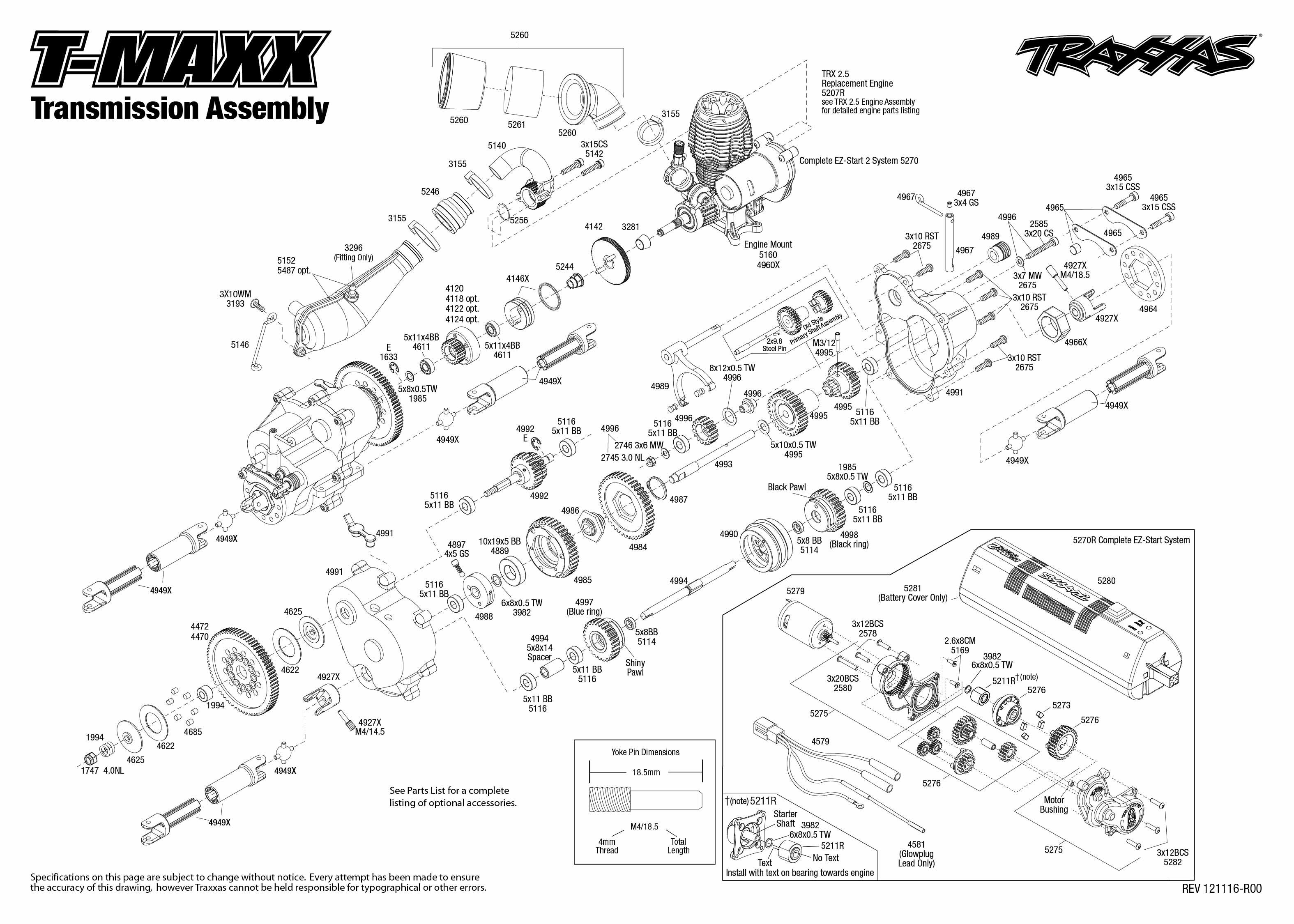 traxxas 2 5 engine diagram traxxas revo 2 5 exploded