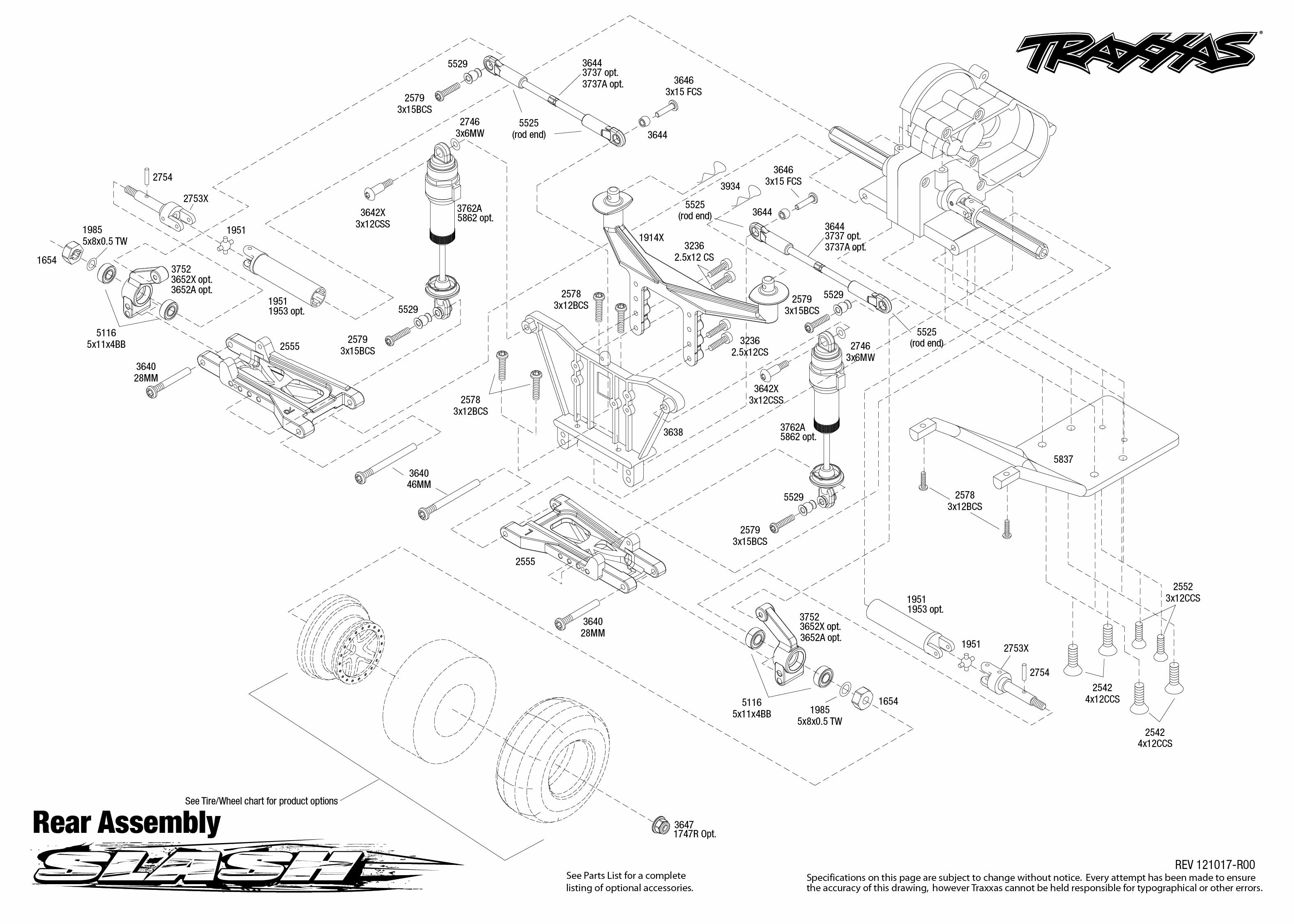 traxxas 1  10 scale slash pro 2wd short course race truck 58034 traxxas slash 2wd parts diagram pdf traxxas slash 2wd parts list pdf
