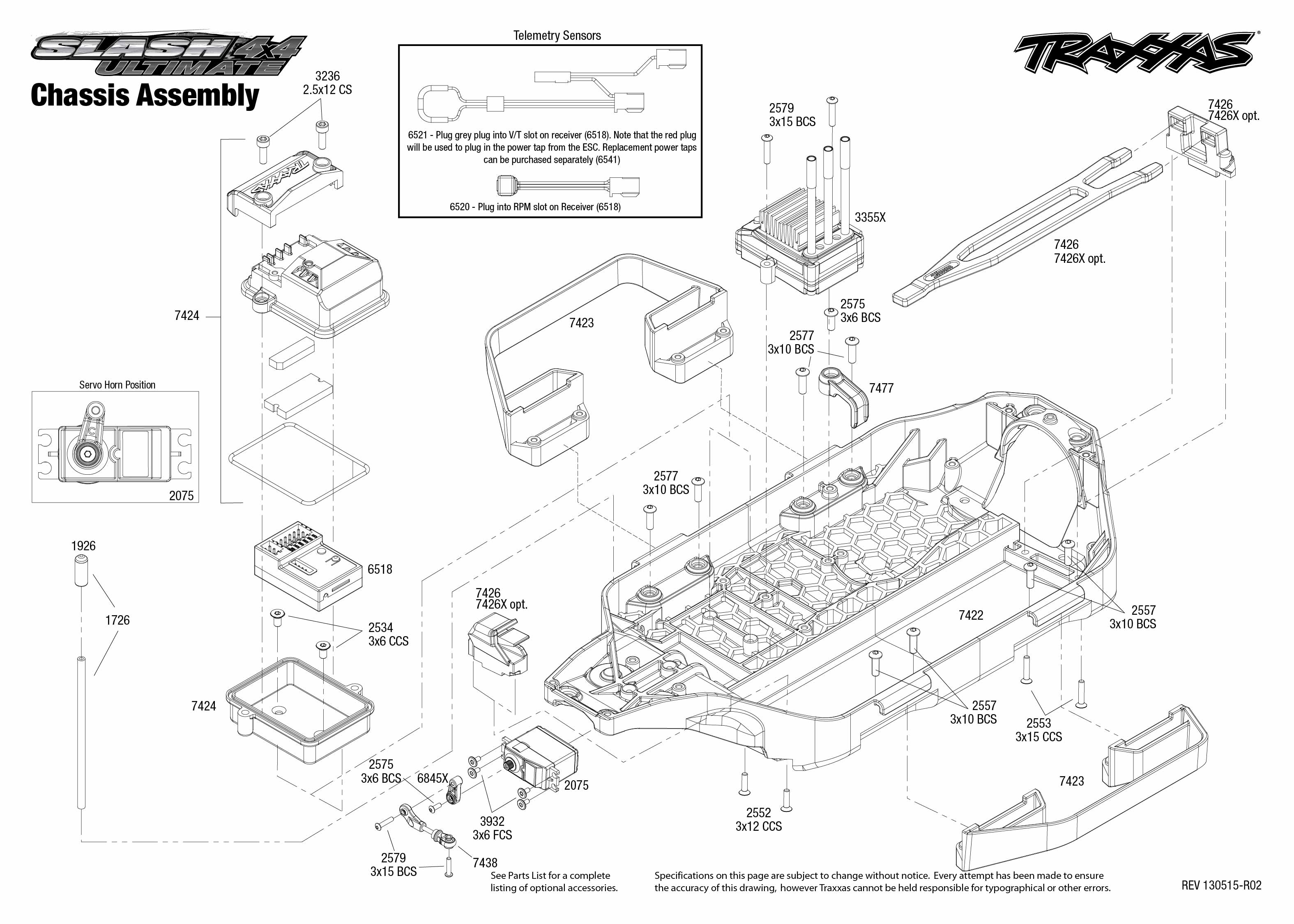 traxxas rustler parts diagram
