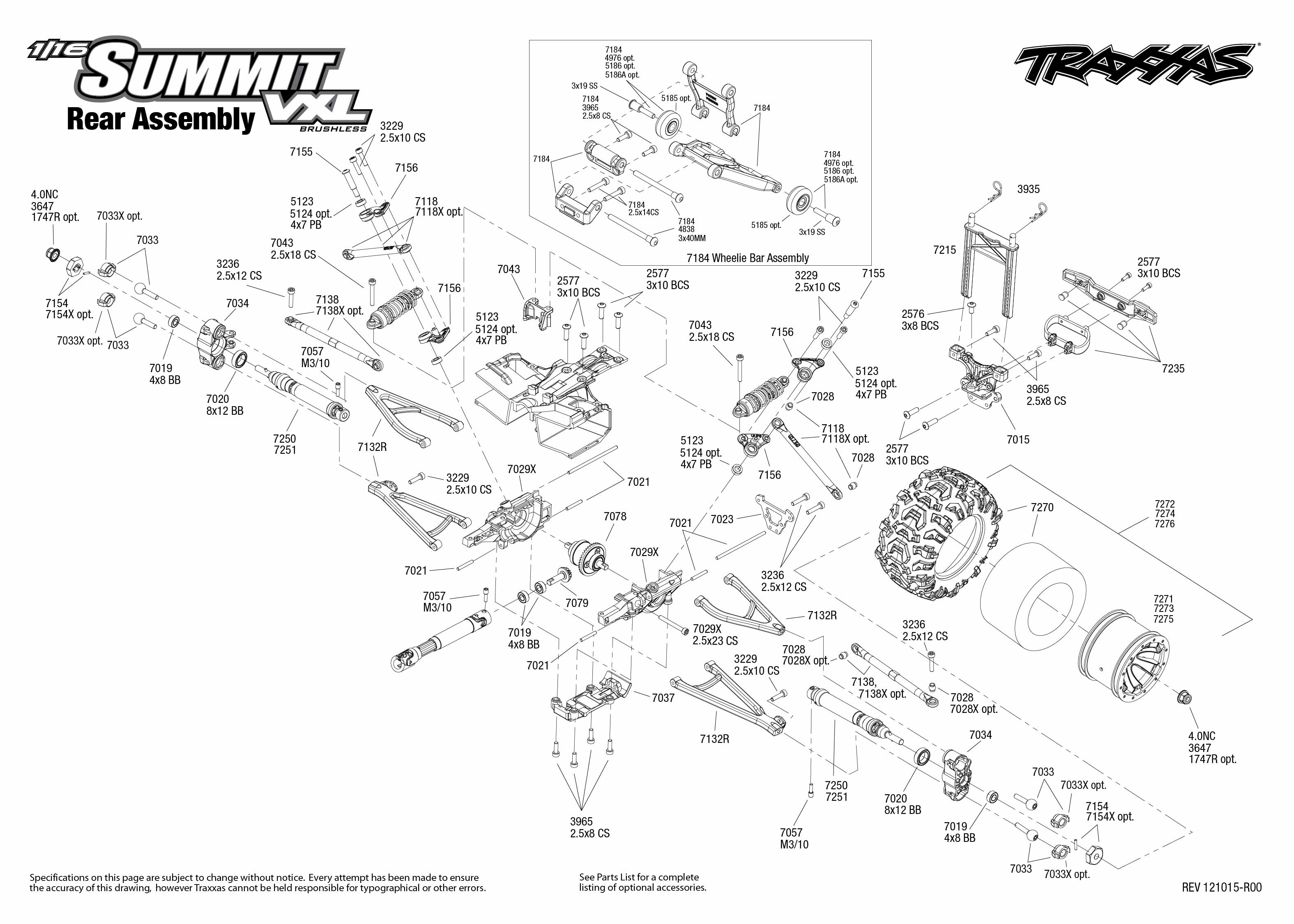traxxas 1  16 scale summit vxl 4wd extreme terrain monster truck