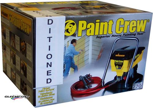 Wagner Paint Crew Airless Paint Sprayer (Reconditioned