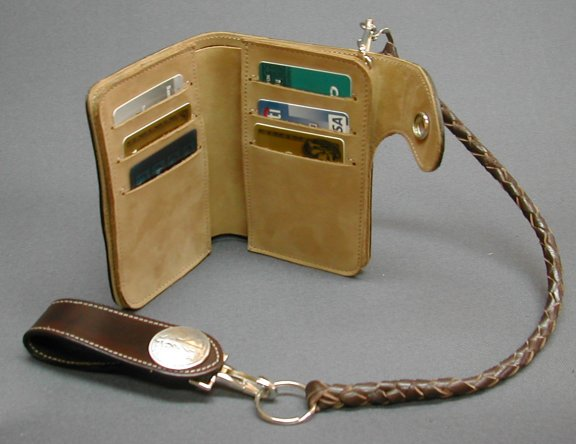 trucker chain wallet