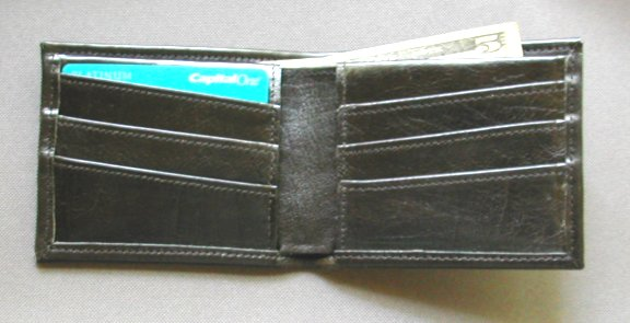 Credit card pocket wallet
