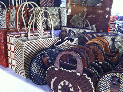 Woven Handbags at Lily's Crafts
