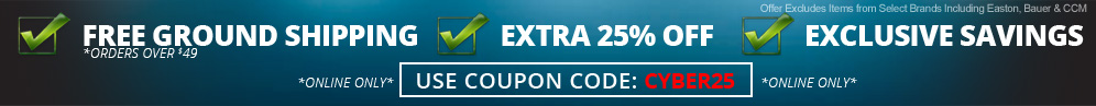 EXTRA 25% Off ALL Items - Use Coupon Code: CYBER25