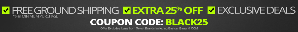 EXTRA 25% Off ALL Items - Use Coupon Code: BLACK25