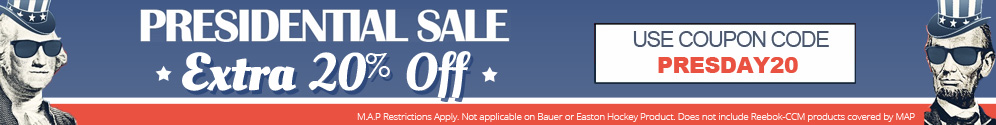 PRESIDENTIAL SALE! Extra 20% Off Your Purchase