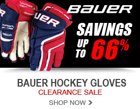 Bauer Hockey Glove Clearance - Savings up to 66%