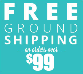 FREE Ground Shipping Over $99!