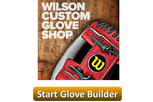 wilson a2000 custom glove builder start