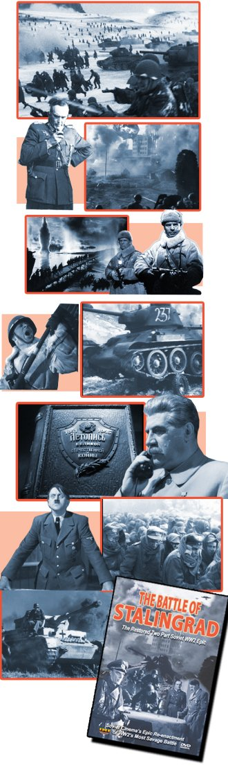 [Battle of Stalingrad: The Restored Two Part Soviet WW2 Epic DVD]