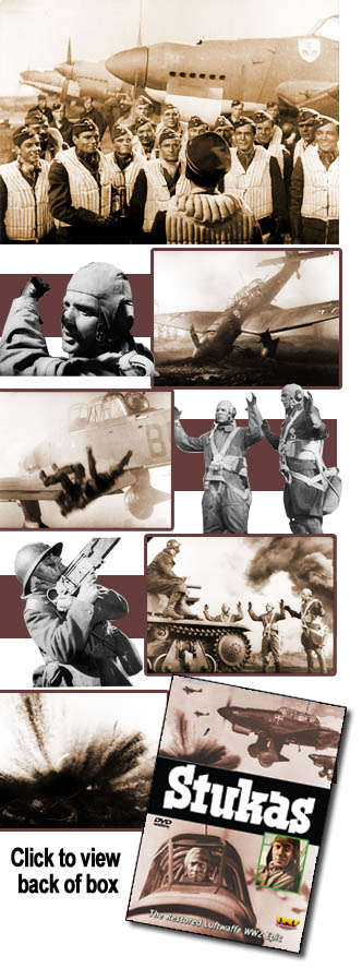 Stukas: Restored Luftwaffe Epic DVD (Karl Ritter)
