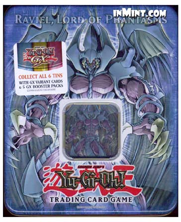 Yugioh GX Collectible Tin Set 2006 Raviel Lord Of Phantasms 46Yugioh Gx Raviel Lord Phantasms