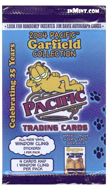 Inmint Com Garfield 2004 Collection Trading Cards Pack