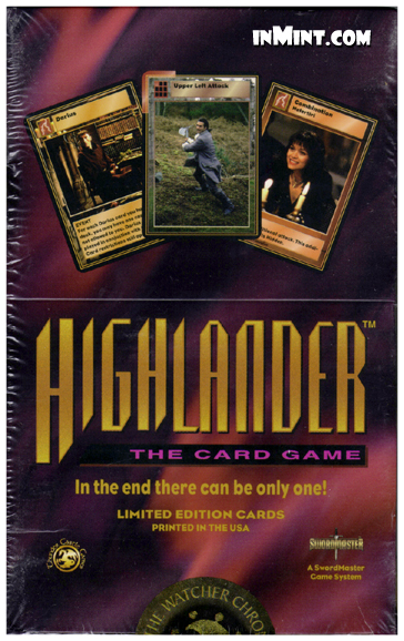Inmint Com Highlander The Watchers Chronicles Booster