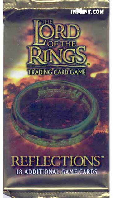 lord of the rings reflection essay Each lotr reflections booster box contains 24 packs.