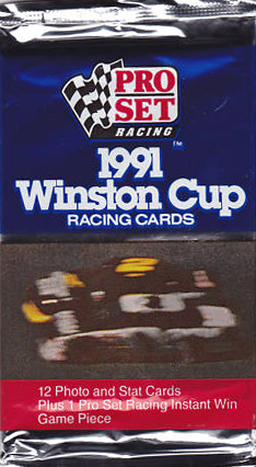 Winston  Auto Racing on Inmint Com   Nascar  1991 Pro Set Winston Cup Racing Cards Pack  12
