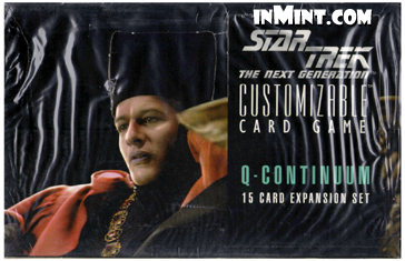 STAR TREK CCG Q CONTINUUM SEALED BOOSTER PACK OF 15 CARDS