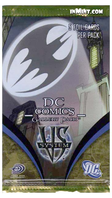 5 Cards DC VS System TCG Gallery Booster Pack
