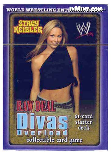 Front Chancery Divas Overload Rare WWE Raw Deal