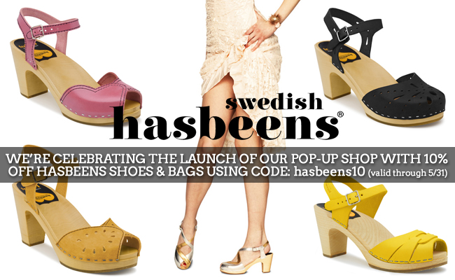 Swedish Hasbeens Pop-Up Shop Now Open!