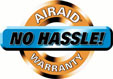 Airaid No Hassle Lifetime Warranty