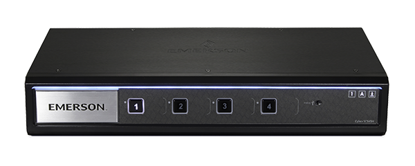 Avocent Cybex 4 Port Secure 4K UHD KVM Switches - USB 3.0 Peripheral / Smart Card (CAC & Audio)
