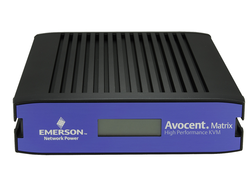 Avocent MX 8 to 32 Port, 1 to 8 User Matrix DVI KVM - PoE-powered transmitters with centralized software management