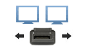 DisplayPort Multi-Screen KVM Extenders