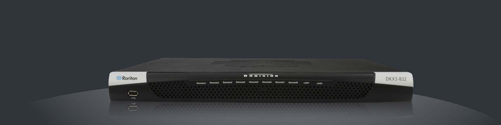 Raritan Dominion DKX3 CAT5 KVM Over IP Switch