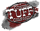 Cowgirl Tuff Women's 2-For-1 Cross Logo Tee Shirt with Lace Sleeves - Black/ Red (Closeout)
